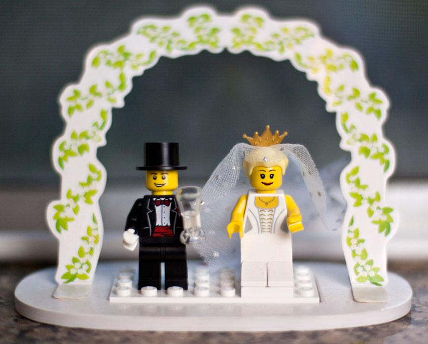 LEGO wedding | samanthajanay photo